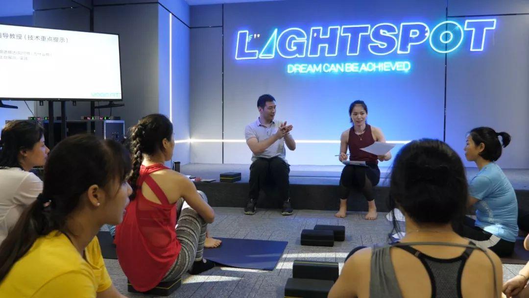亮象团操健身学院培训